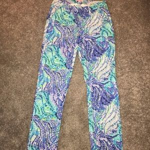Lily Pulitzer kelly pant size 4